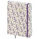 Diář denní B6 Vario - Lavendel s gumičkou