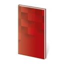 Diář týdenní kapesní Vario - Red