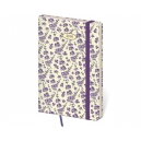 Diář týdenní kapesní Varo - Lavendel s gumičkou