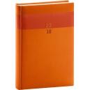 Denní diář A4 Aprint -  oranžový
