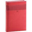 Denní diář A4 Aprint -  červený