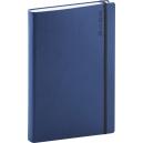 Denní diář A5 Soft -  modročerný