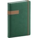 Denní diář A5 Twill -  zelenobronzový