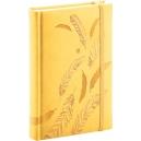 Denní diář B6 Vivella speciál -  žlutý