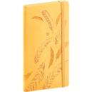 Kapesní diář  Vivella speciál -  žlutý
