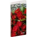 Kapesní diář  Růže - měsíční